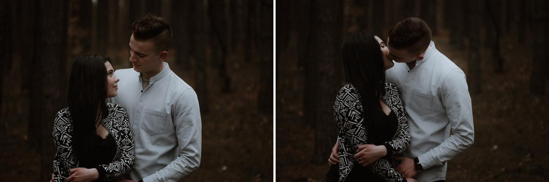 Chańcza, Świętokrzyskie, sesja narzeczeńska, fotografia ślubna, las