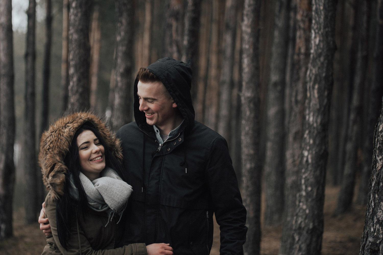Chańcza, Świętokrzyskie, sesja narzeczeńska, fotografia ślubna