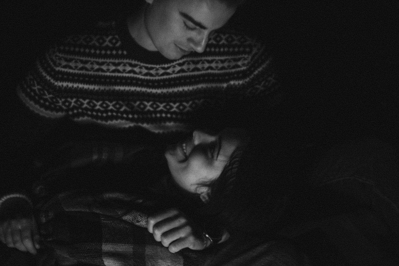 Chańcza, Świętokrzyskie, noc, sesja narzeczeńska, fotografia ślubna
